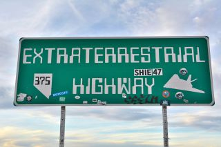 "Repeated reports of UFO sightings along Nevada's State Highway 375 — which is close to the top-secret Area 51 government base — led Nevada officials to dub the route ""Extraterrestrial Highway"" in 1996."