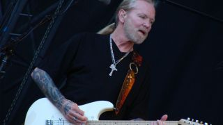 The late Gregg Allman