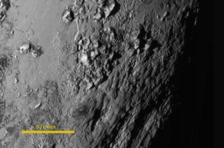 1st Close-Up Image of Pluto