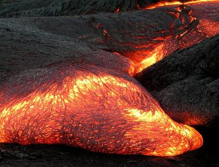 Magma on Earth