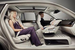 volvo swiveling car seat