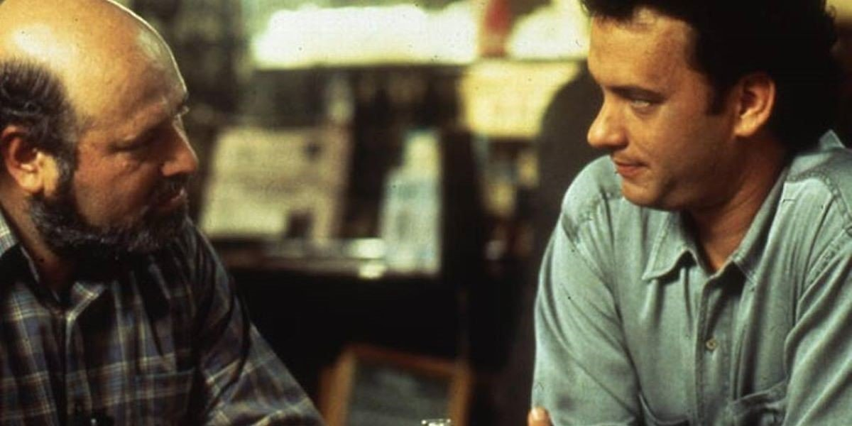Rob Reiner and Tom Hanks in Sleepless in Seattle