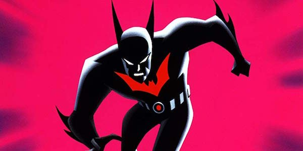 Terry McGinnis in costume as Batman Beyond
