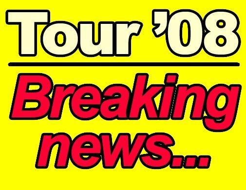 Tour de France 2008 breaking news