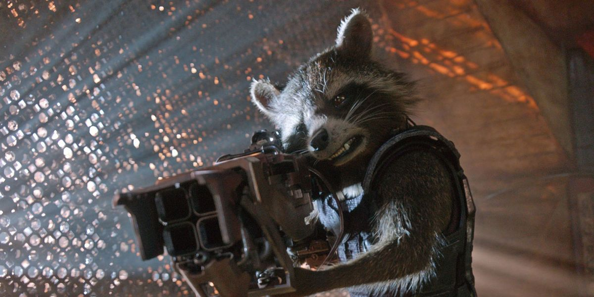 Rocket in Guardians of the Glaxy
