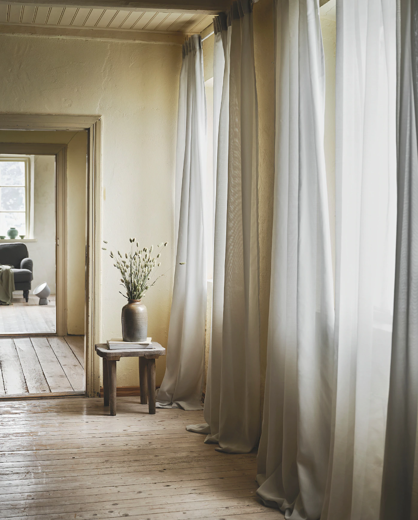 These £25 IKEA curtains that clean the air in your home