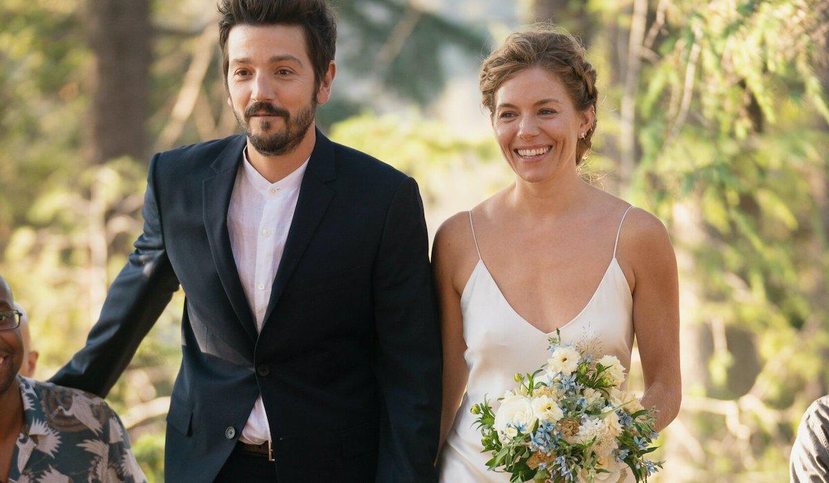 Diego Luna and Sienna Miller getting married in Wander Darkly