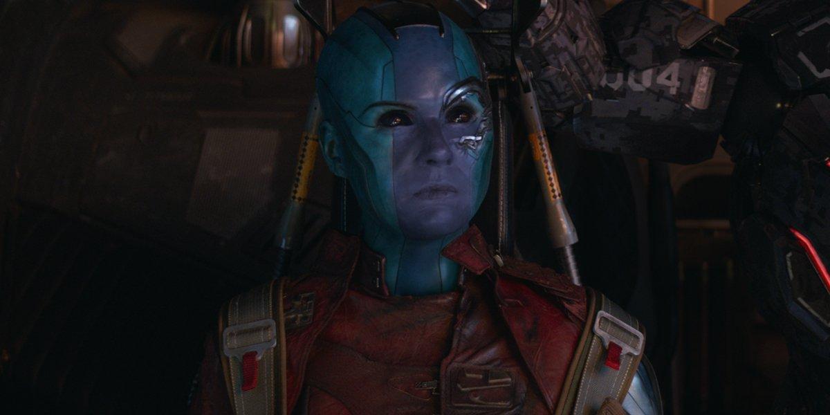 Карен Гиллан из Стражей Галактики получила новый взгляд на Тора: съемки фильма «Любовь и гром»