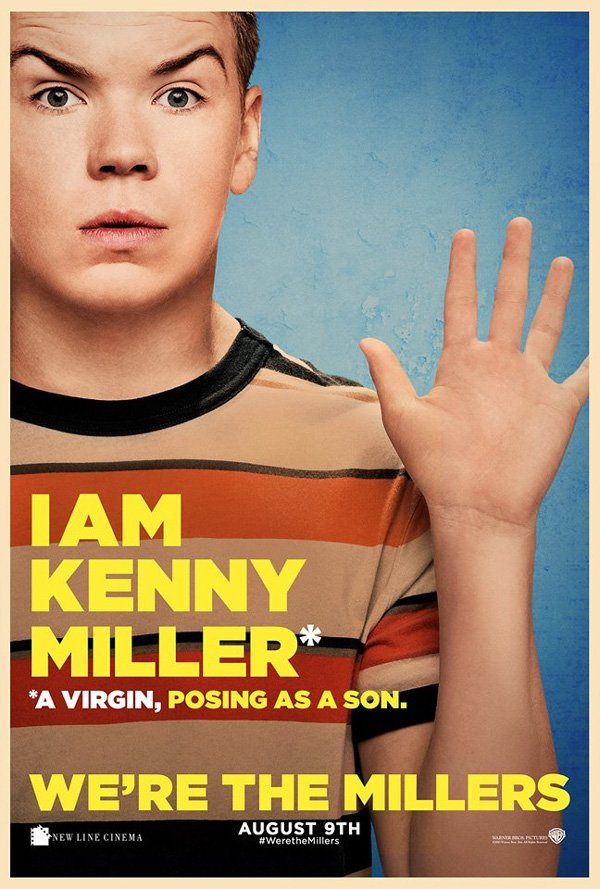 We're The Millers Character Posters Will Poulter