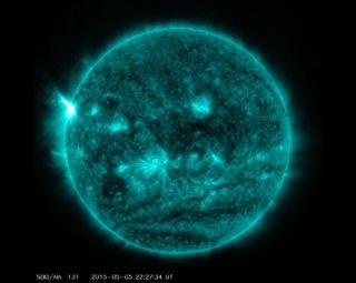 X2.7 Solar Flare, May 5, 2015