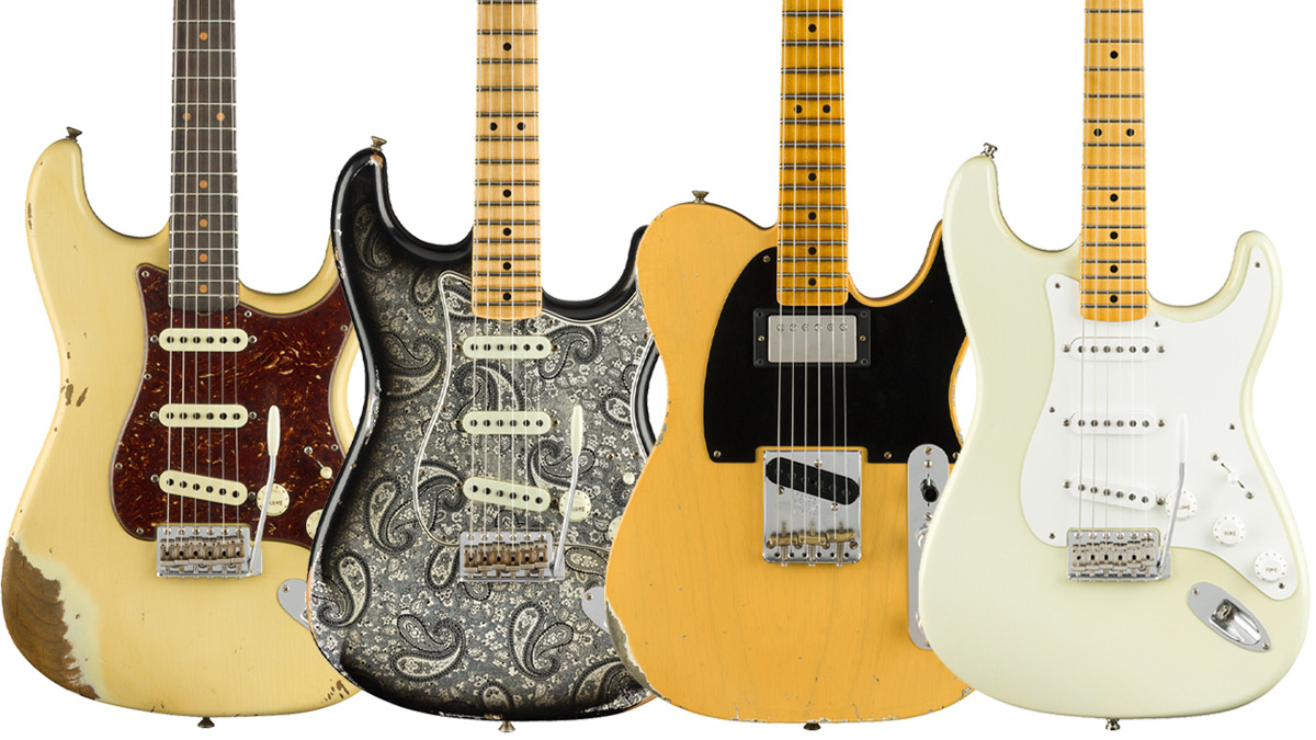 Summer Namm 2018 Jimmie Vaughan Stratocaster Leads Fenderrsquos Telecaster Pickup Wiring Stack Custom Shop Offerings Musicradar