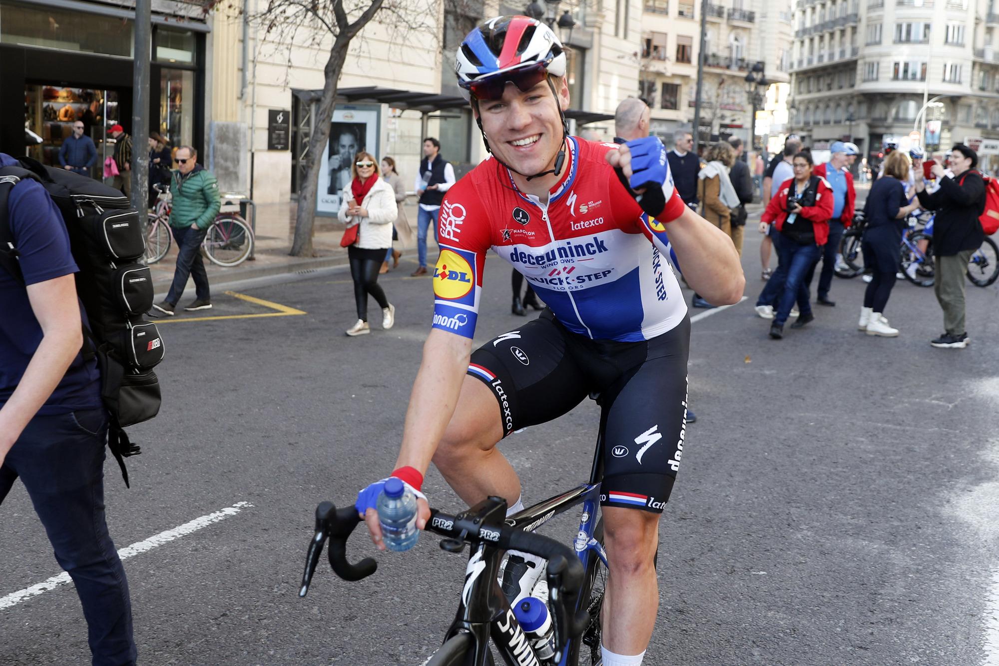 Volta a la Comunitat Valenciana 2020 - 71st Edition - 5th stage Paterna - Valencia 97,7 km - 09/02/2020 - Fabio Jakobsen (NED - Deceuninck - Quick Step) - photo Luis Angel Gomez/BettiniPhoto©2020