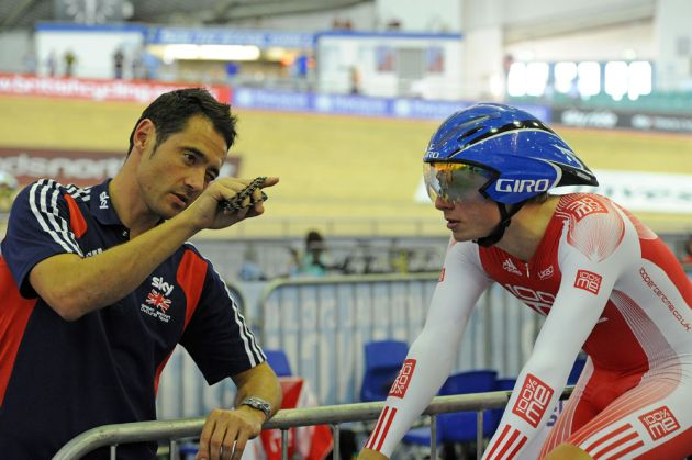 Chris Newton and Tom Moses, British track national championships 2011