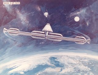 international space station, space station concepts, Freedom, space history photos