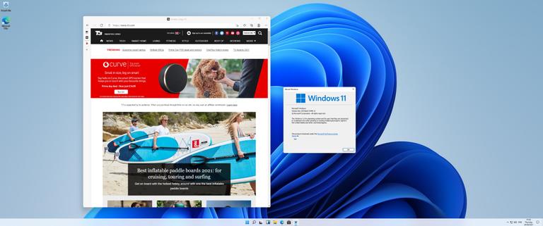 Windows 11 browsing T3.com