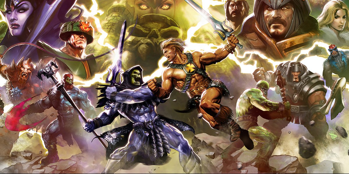 He-Man and the Masters of the Universe comic cover