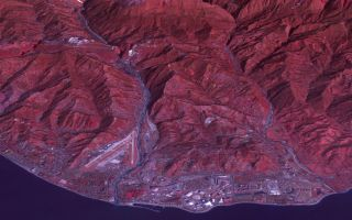Earth from Space: Sochi Olympic Park Coastal Cluster 1920