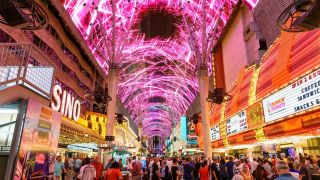 Watchfire Signs Fremont Street Experience Canopy