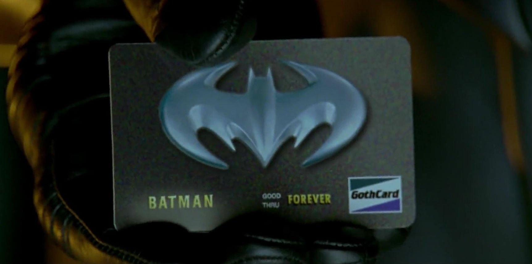 Batman Credit Card Batman & Robin
