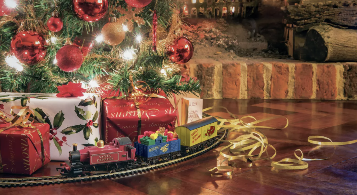 All aboard! Christmas tree train sets are making a comeback for 2020