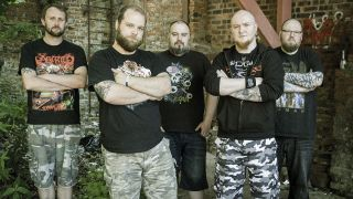 A press shot of Triverse Massacre