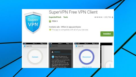 SuperVPN Free VPN Client review | TechRadar