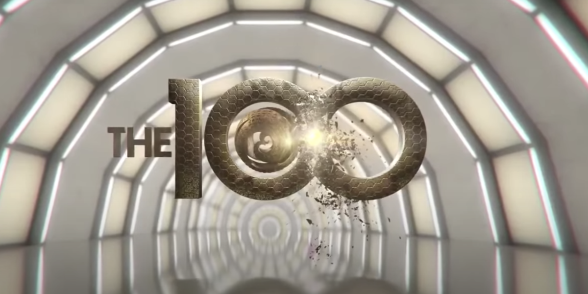 the 100 season 7 screenshot credits logo