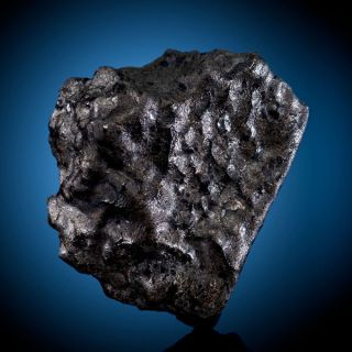 This 1.6-ounce (46-gram) meteorite, a part of the Tissint meteorite that landed in Morocco in July 2011, fetched $43,750 at a public auction on May 20.