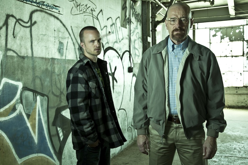 breaking bad season 5 photos show the cast and walter