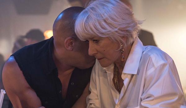 Fast 8 Vin Diesel Helen Mirren
