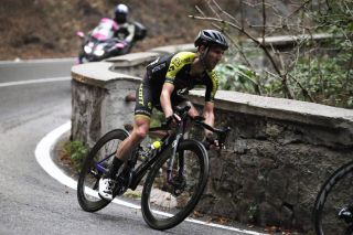 CAMIGLIATELLO SILANO ITALY OCTOBER 07 Simon Yates of The United Kingdom and Team Mitchelton Scott during the 103rd Giro dItalia 2020 Stage 5 a 225km stage from Mileto to Camigliatello Silano 1275m girodiitalia Giro on October 07 2020 in Camigliatello Silano Italy Photo by Tim de WaeleGetty Images