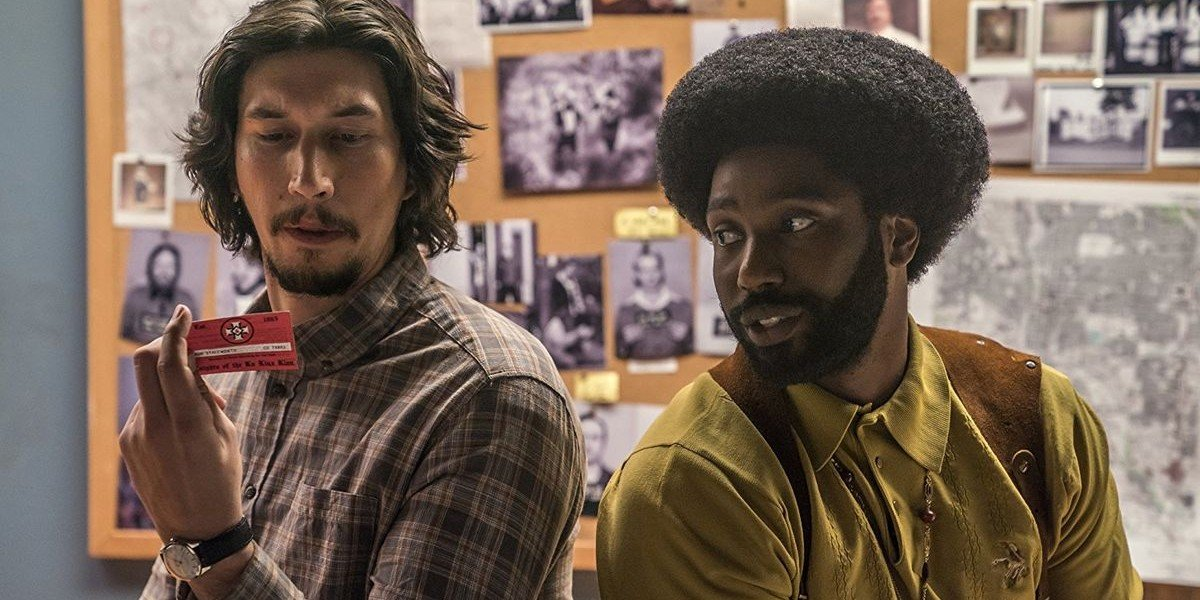 Adam Driver, John David Washington - BlacKkKlansman
