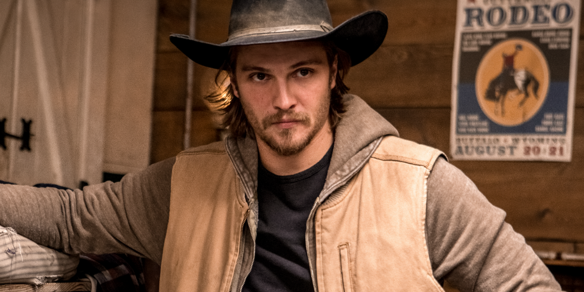 Yellowstone Kayce Dutton Luke Grimes Paramount Network