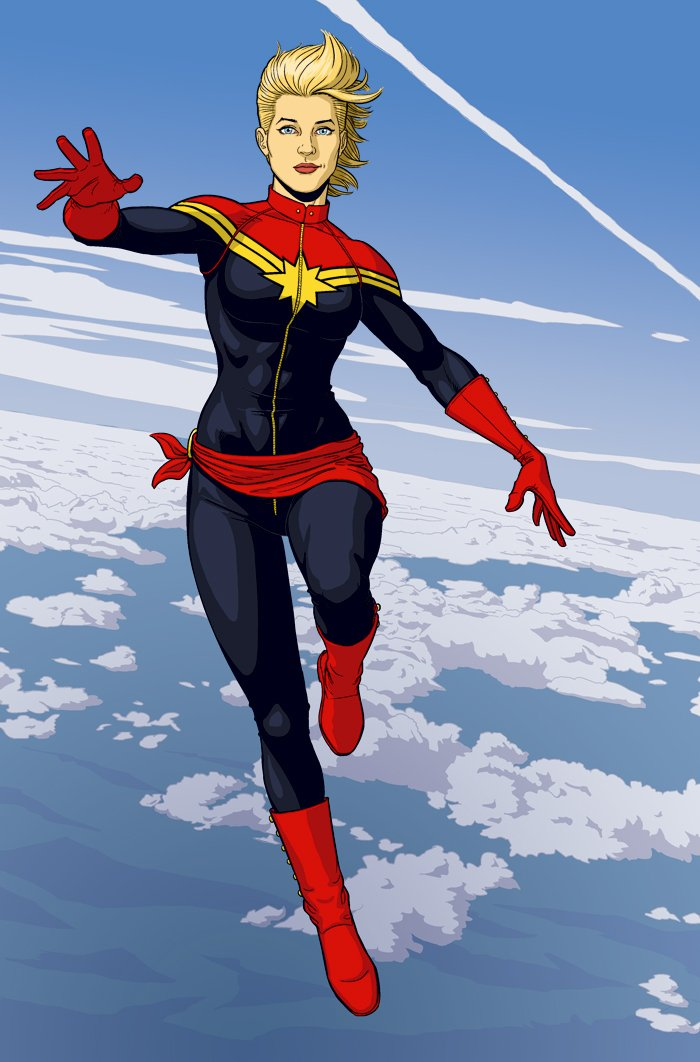 Captain Marvel Jamie McKelvie Marvel Comics