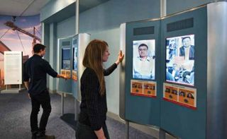Ellis Island Exhibits Use Extensive AV