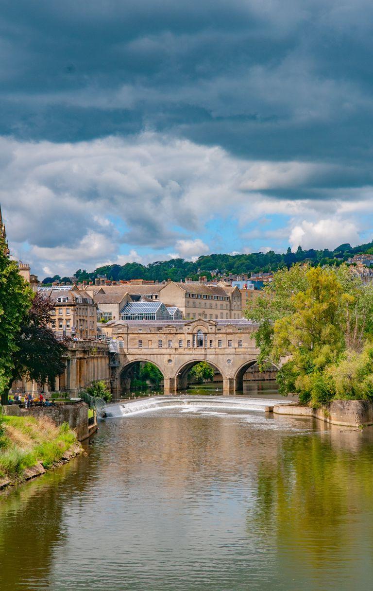 Bath city in Somerset