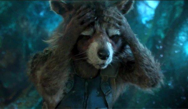 Rocket Raccoon (voice of Bradley Cooper)