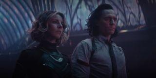sylvie and loki standing in the citadel in loki's season 1 finale