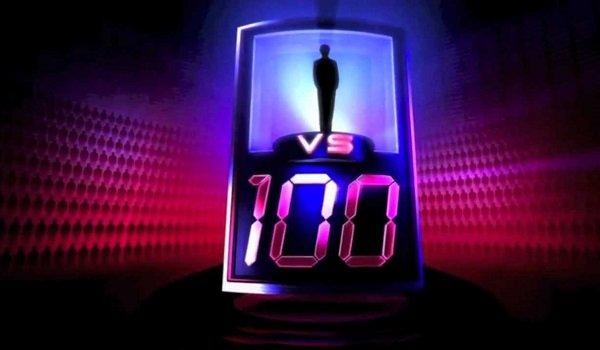 1 v 100 logo