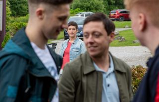 Matty crosses paths with Victoria in Emmerdale