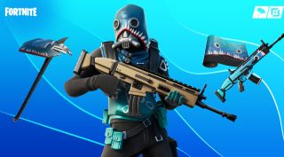 fortnite new skin bull shark