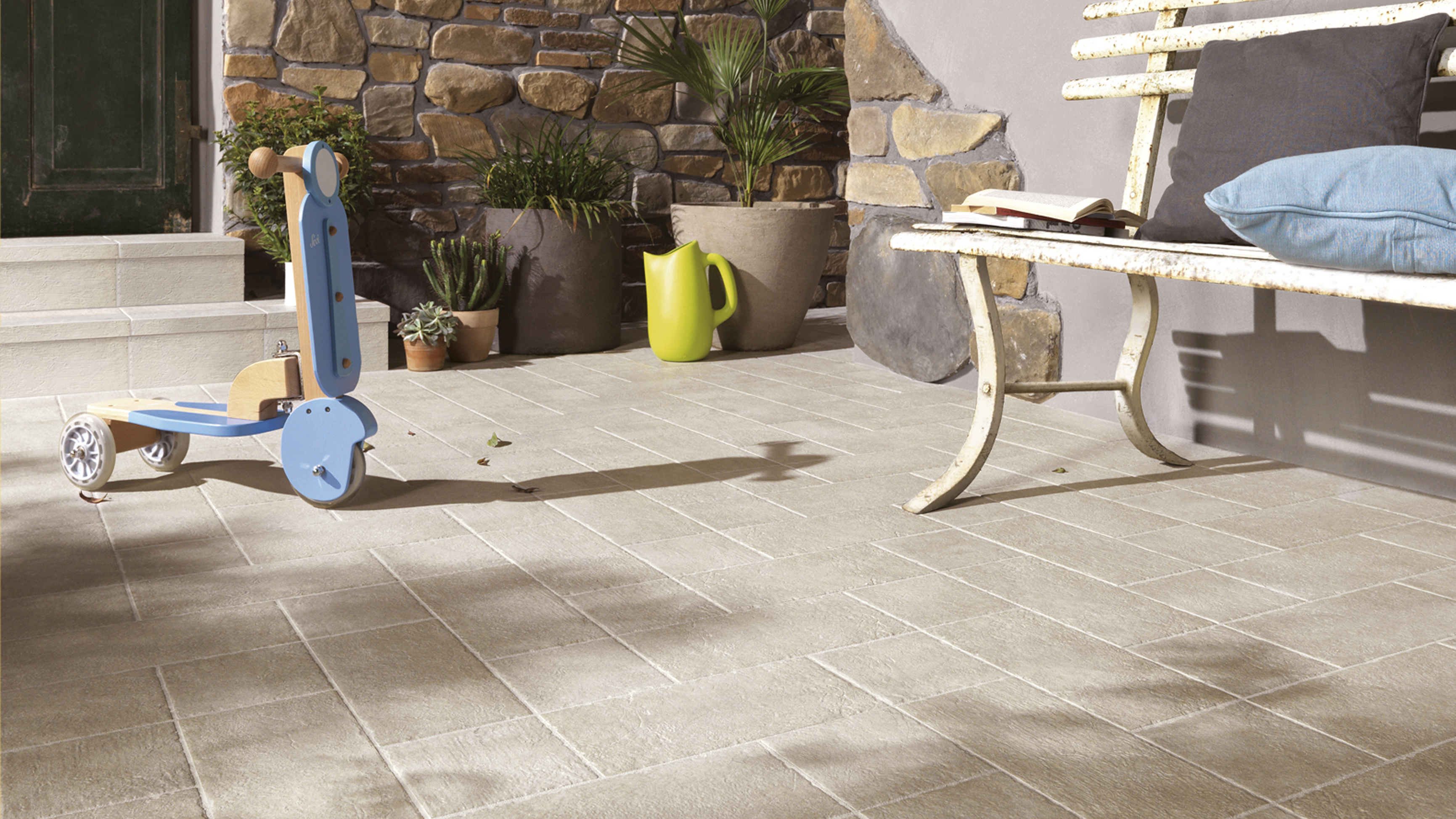 How to choose outdoor tiles  Real Homes