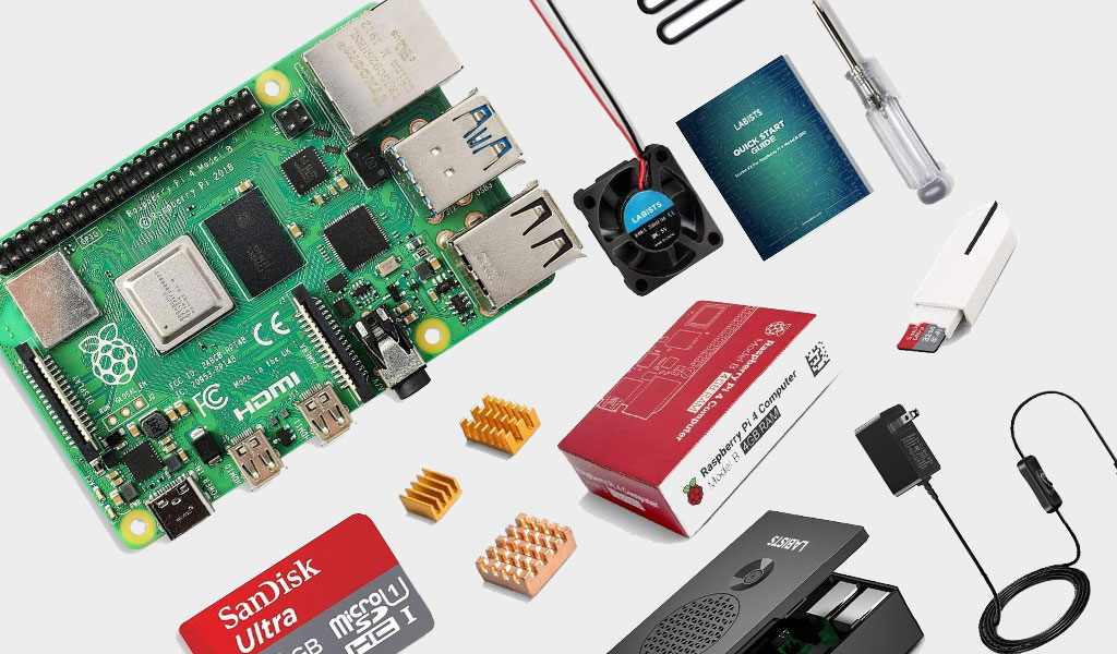 You could build a retro gaming box with this Raspberry Pi 4 starter kit for just $80