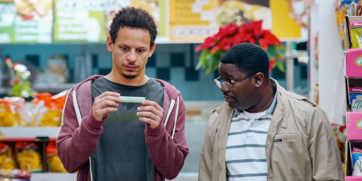 Eric André and Lil Rel Howery in Bad Trip