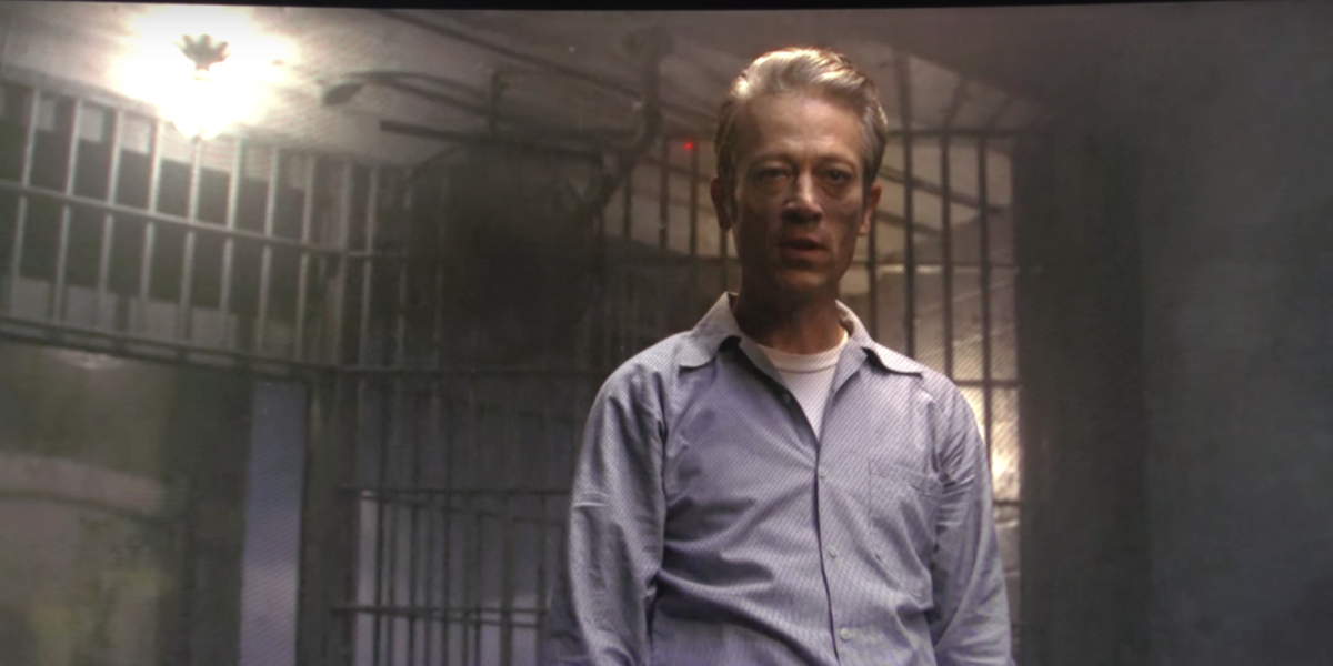 Richard Speck (Jack Erdie) right after giving his motives for his murders