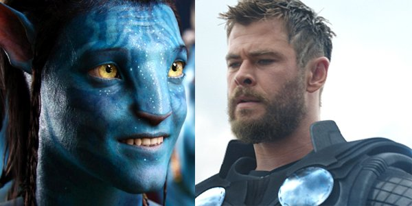 Avatar smile Avengers Endgame Chris Hemsworth Thor looks serious