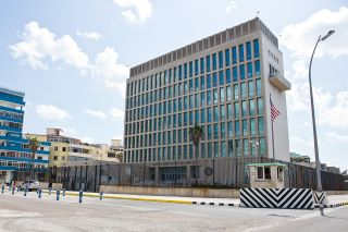 The US embassy in Havana cuba