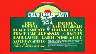 California Jam poster
