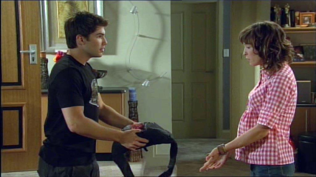 Bridget and Declan argue over the money