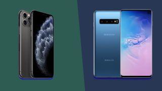 iPhone 11 Pro versus Samsung Galaxy S10